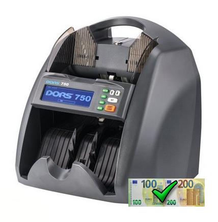 DORS 750 Hodnotová počítačka bankoviek