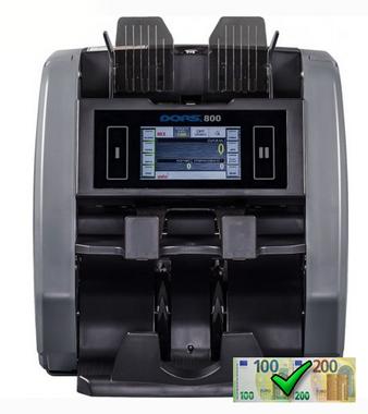 DORS 800 2-pocketová počítačka bankoviek