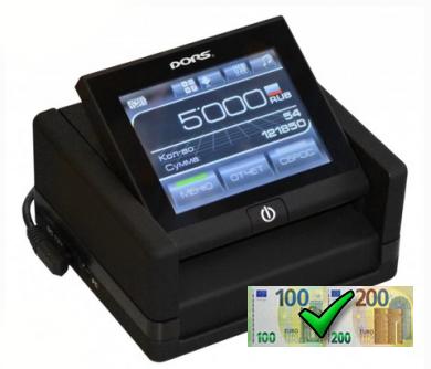 DORS 230+Aku - detektor bankoviek